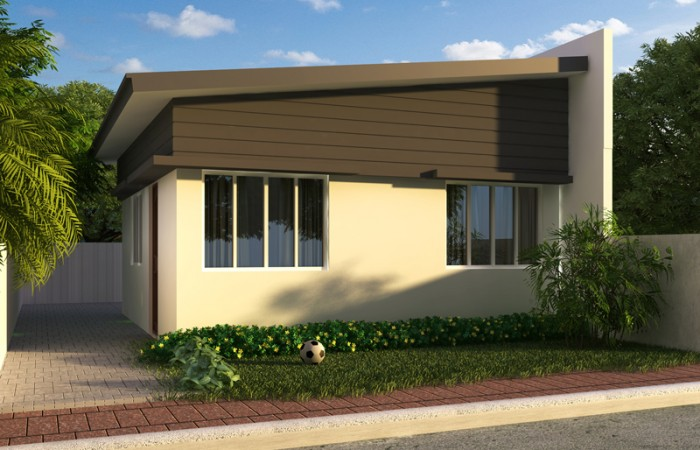 Free lay out and estimate philippine bungalow house for Low cost house plans with estimate