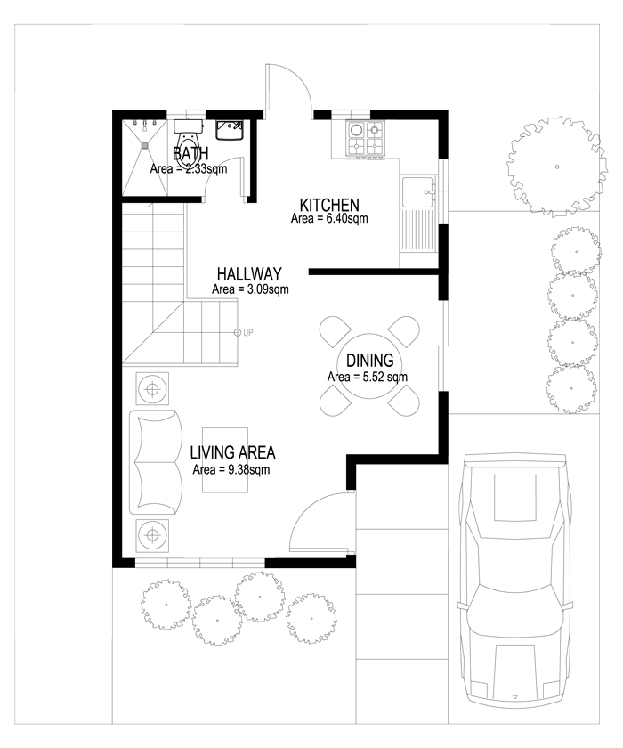 Two story house plans series php 2014003 for Create house floor plans free