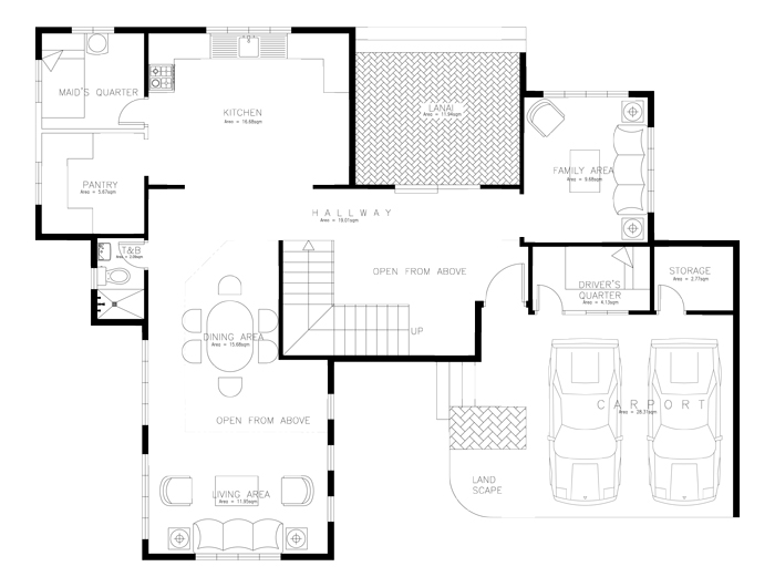 Luxury house plans series php 2014008 for Luxury home floor plans