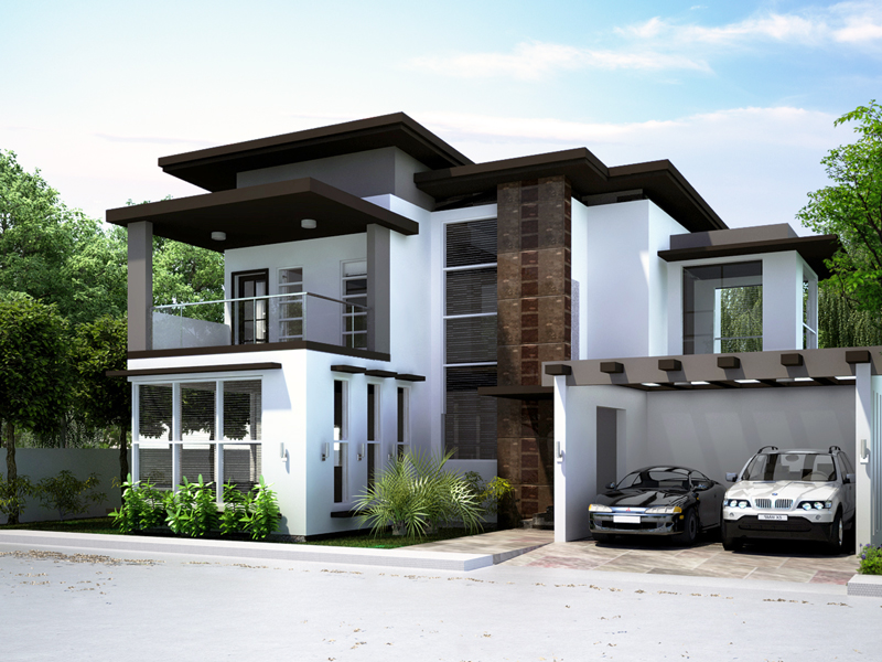 Luxury House Plans PHP2014008 Perspective