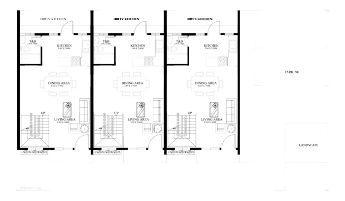 Townhouse Plans Series Php 2014011