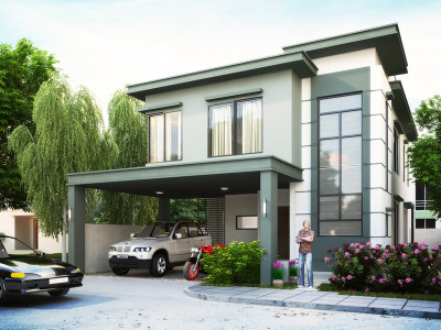 Two story house plans series php 2014004 for 300 sqm house design philippines