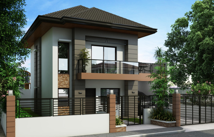 Free lay out and estimate philippine bungalow house for Small house design worth 300 000 pesos