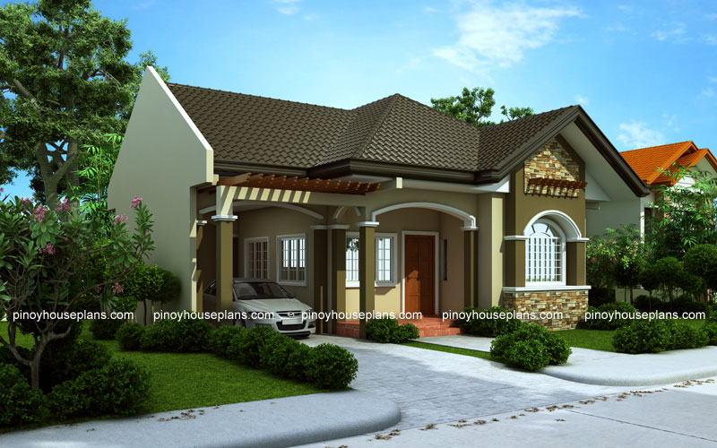 Pinoy House Plan PHP 2015016 View01 1 - 29+ Simple Small House Design Village Images