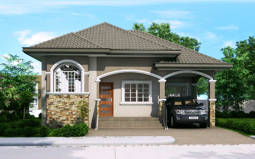 Katrina - 3 Bedroom Bungalow House Plan (PHP-2016024-1S ...