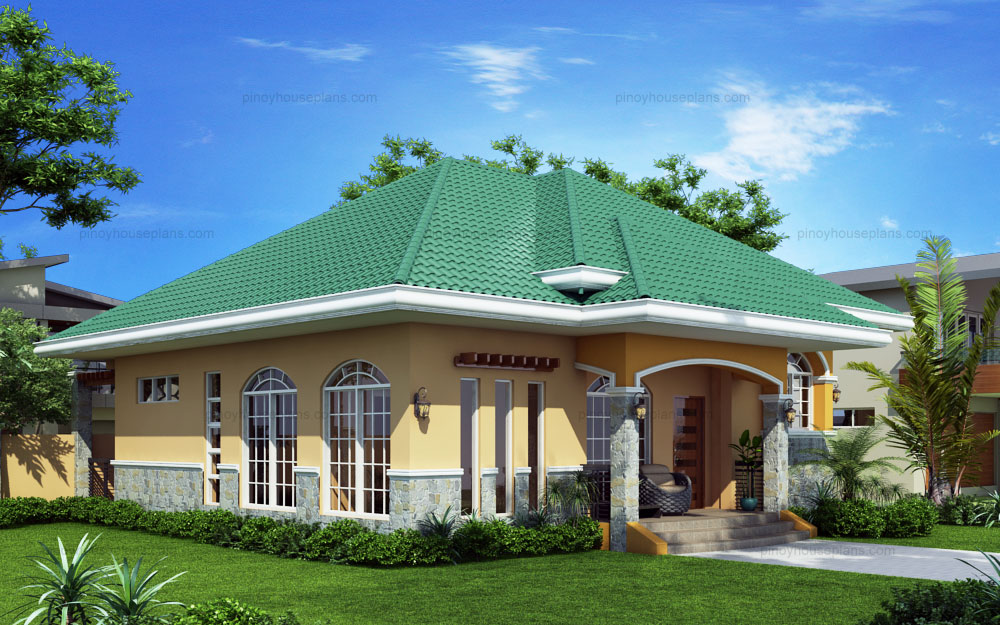 Marcela elevated bungalow house plan php 2016026 1s for Types of houses in kenya