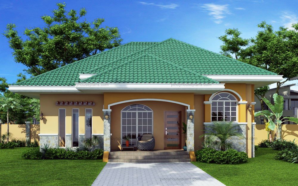 Hip Roof Bungalow Exterior