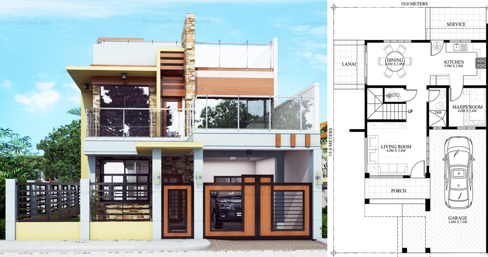 Prime Celestino 4 Bedroom House Plan Pinoy House Plans Download Free Architecture Designs Meptaeticmadebymaigaardcom