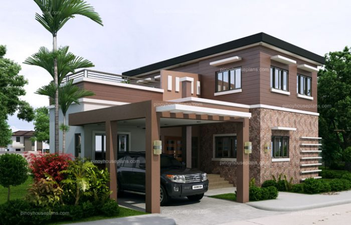 jerico - free house plan with roof deck