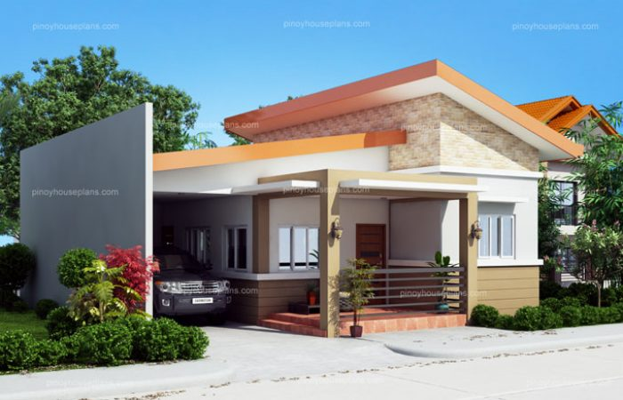 Cecile one story simple house design for Small house design in nepal