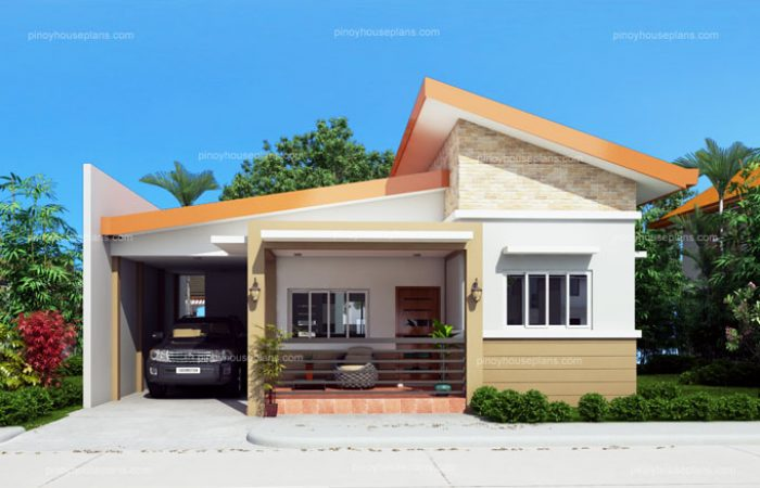 Cecile one story simple house design for Small house design worth 300 000 pesos