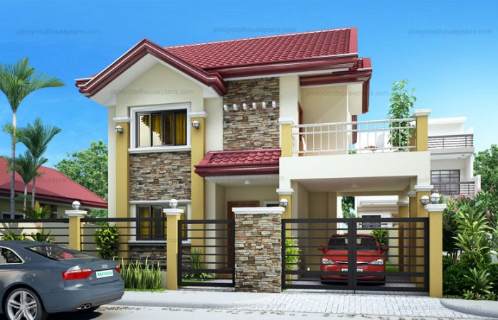 Pinoy Cool House Plan Perspective