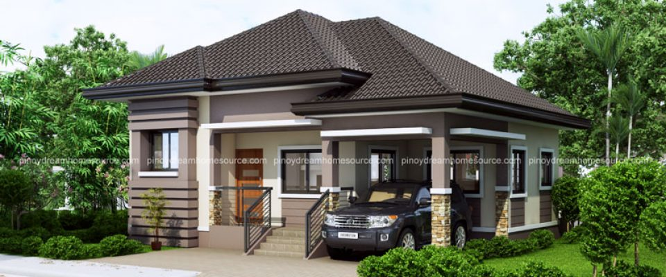 Pinoy house plans plan your house with us for Bungalow house with firewall