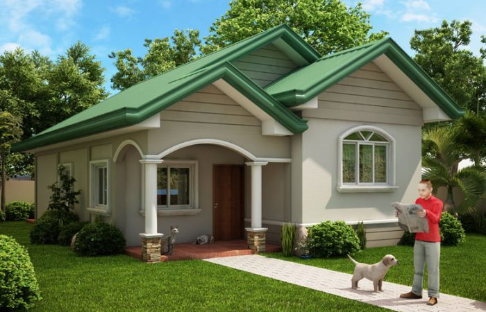 One Storey Dream Home Perspective