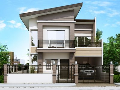 Two Story Cool House Plans Archives - Pinoy House Plans