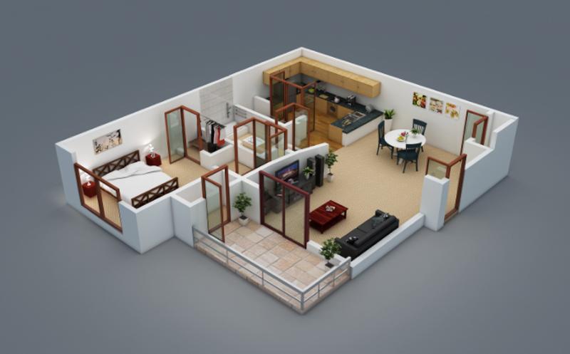 20 Splendid House Plans In 3d Pinoy House Plans