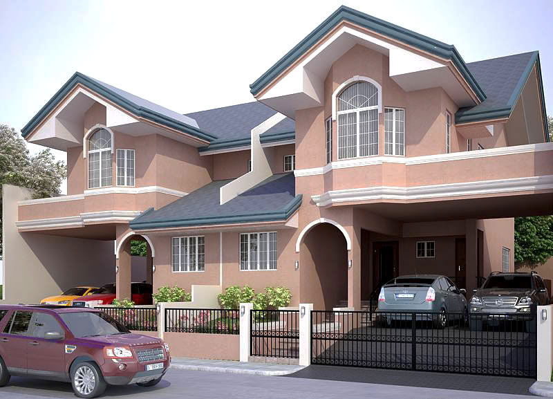 Stunning duplex house plans pinoy house plans - What is duplex house concept ...