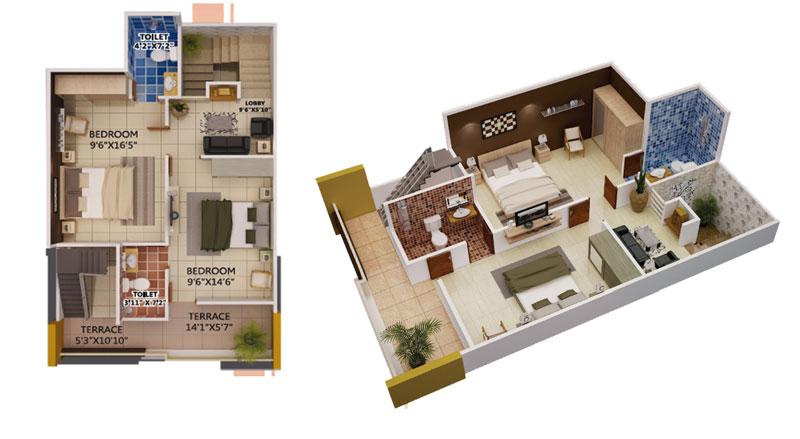 duplex house plans second floor
