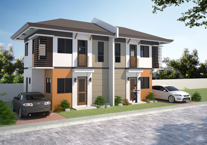 Stunning duplex house plans pinoy house plans for 2 storey apartment floor plans philippines