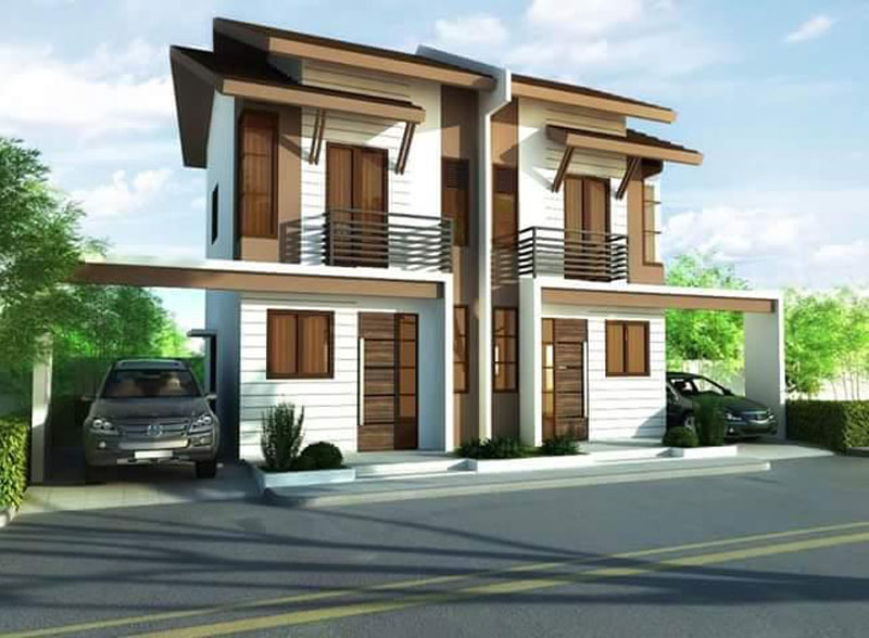 Stunning Duplex House Plans - Pinoy House Plans