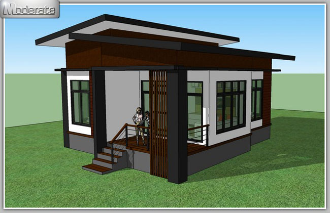 Modern House Designs Elevated: Elevated Modern Single Storey House