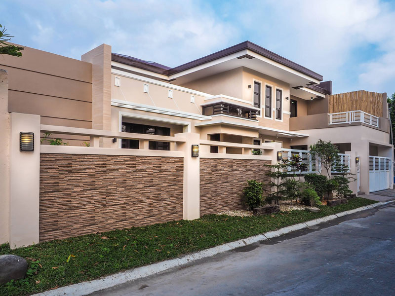 Luxury Two Story House with Interior Pinoy House Plans