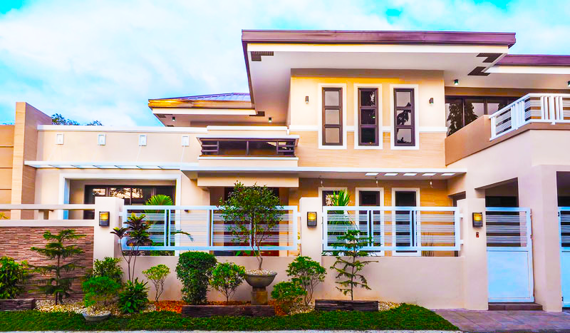 Luxury two story house with interior images pinoy house for 2 story luxury house plans