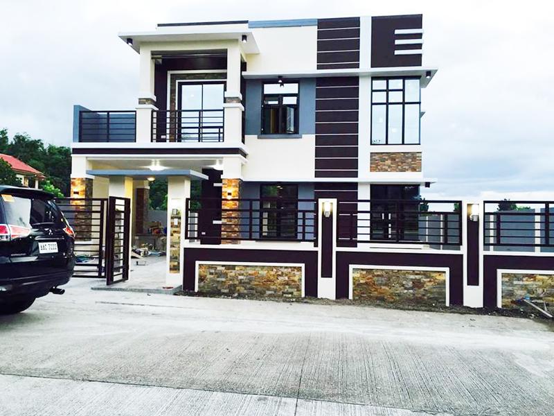 Stunning minimalist 2 storey house pinoy house plans for Minimalist no house
