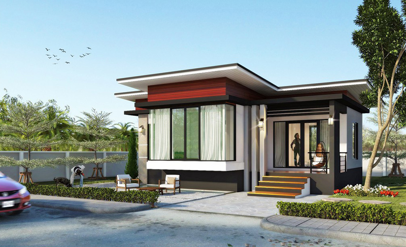 2 bedroom modern house plans