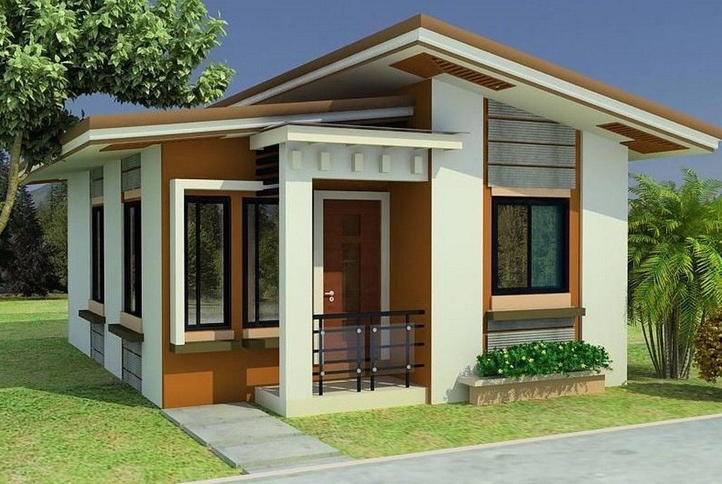 Superb Small House Design With Interior Concepts