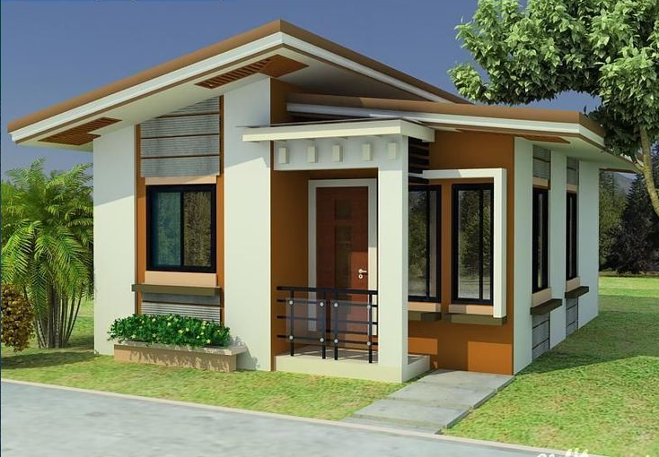 Small House 2 - Download Low Cost Two Story Small House Design  Gif