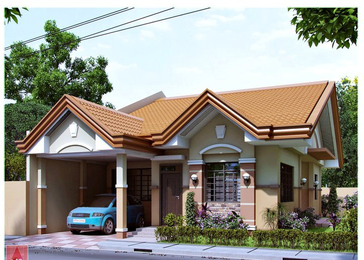 28 amazing images of bungalow houses in the philippines for Bungalow houses designs philippines images