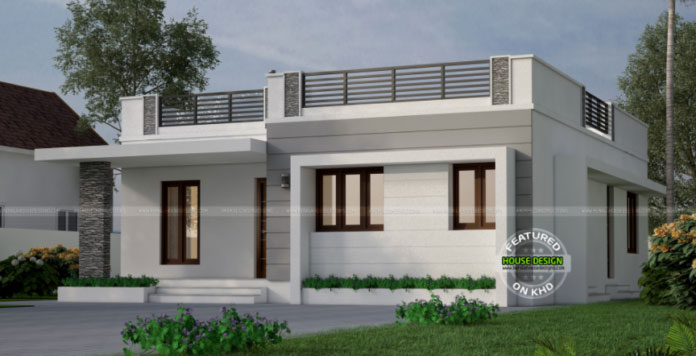 One storey with roof deck indian house concept pinoy for Home floor plans with estimated cost to build
