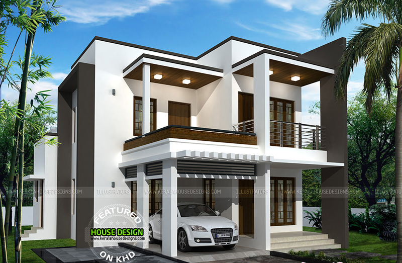 tw0 storey House Idea - Download Small House 2 Storey House Floor Plan Design 3D Background