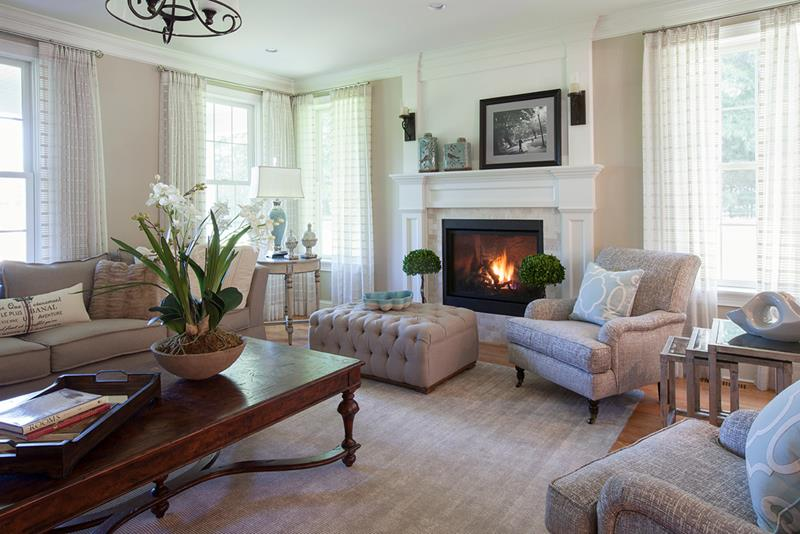 Having a modern and updated living room is inviting. [Image Credit: Home Epiphany]
