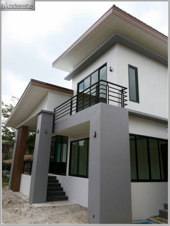blog1  Storey House Design Modern on 1 floor modern house design, 1 storey cottage design, 3 storey modern house design,