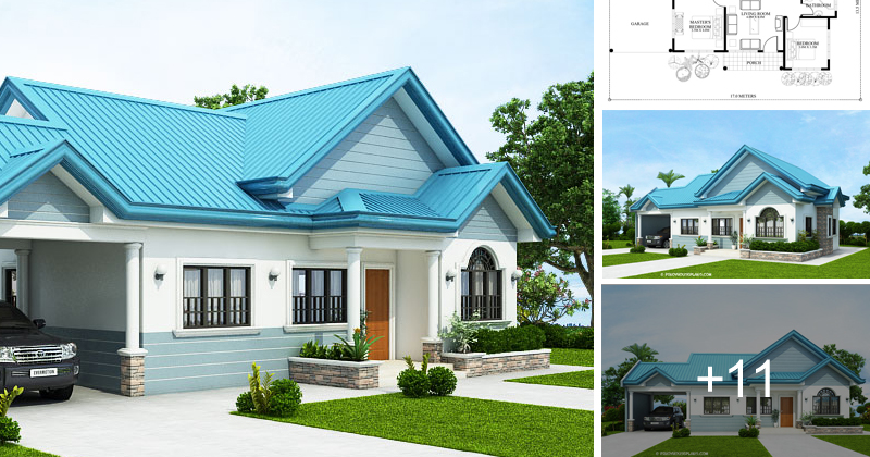 Wondrous The Blue House Design With 3 Bedrooms Pinoy House Plans Download Free Architecture Designs Photstoregrimeyleaguecom