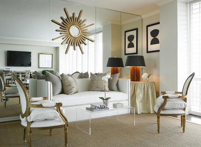 Adding mirrors to any part of your house can add more natural light. [Image Credit: Home]