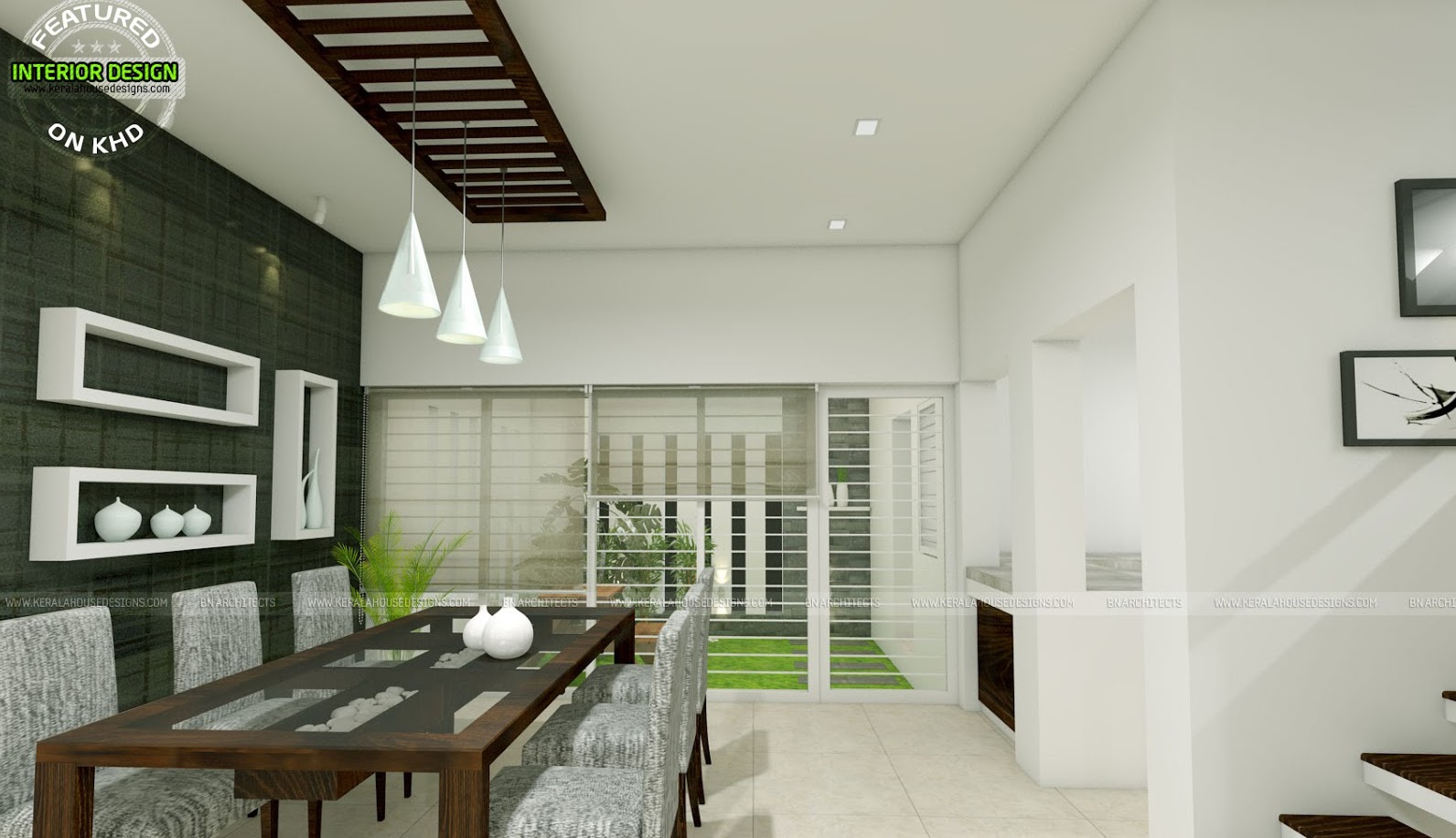 Modern Two Storey House With Three Bedrooms and Three Living ...