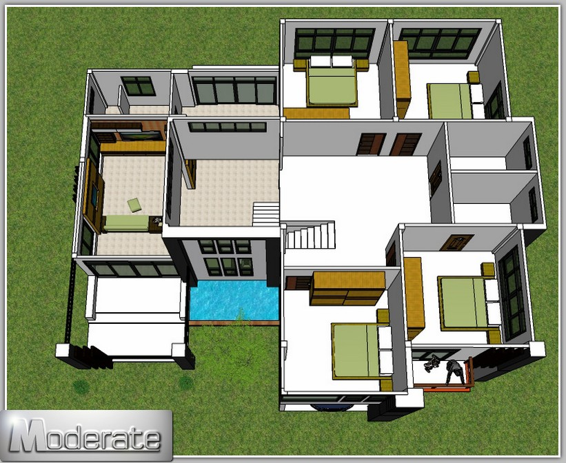Inspiring moderate house plans images best interior for Moderate house plans