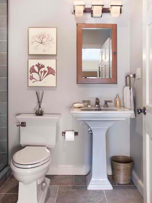 Small Bathroom Ideas To Make Your Bathroom Bigger And More Functional