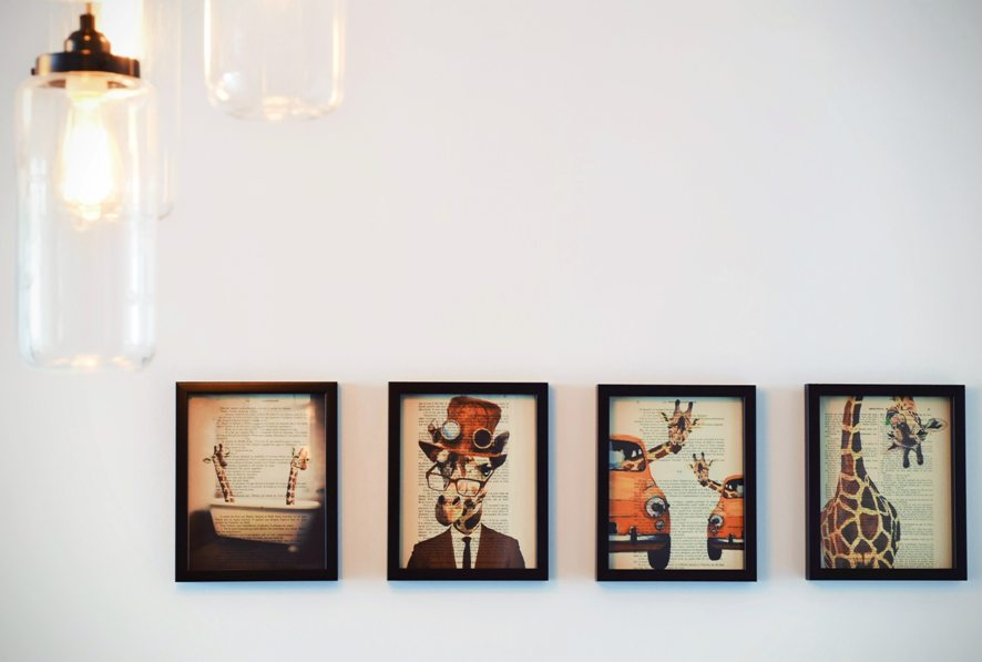art gallery at home