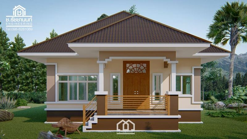 Stunning elevated three-bedroom bungalow - Pinoy House Plans