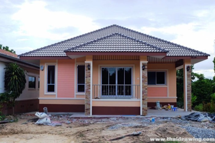 Simple Three Bedroom Bungalow For Beginners Pinoy House Plans