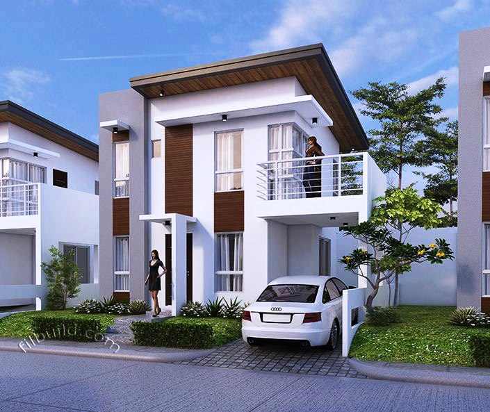 Minimalist Modern Double Storey House Pinoy House Plans
