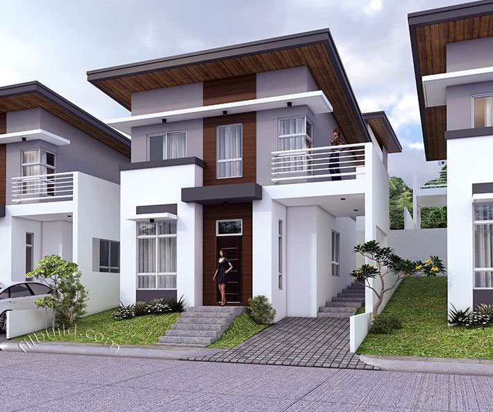 Minimalist House Design: Another Minimalist Double-storey Modern House For Your