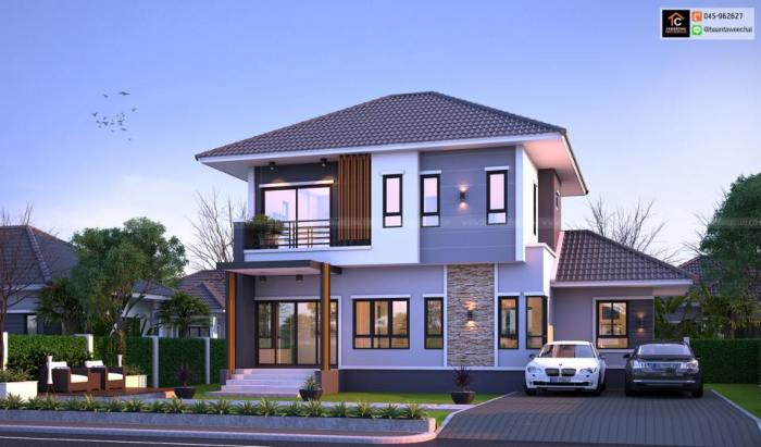 This Contemporary Two Storey House Will Make You Want To Build Your Dream House Tomorrow Pinoy House Plans