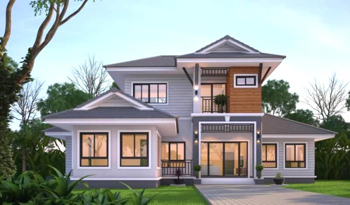 This Magnificent Contemporary Double-storey House Design ...