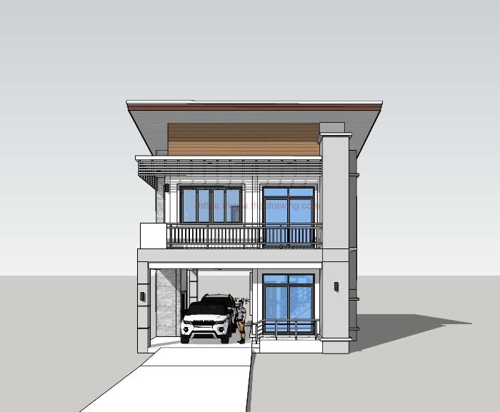 2nd Floor House Design With Balcony Home And Kitchen