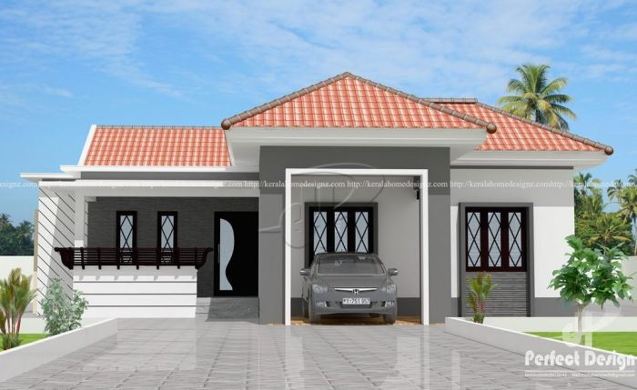Contemporary Three Bedroom Bungalow With A Flexible Floor Plan Pinoy House Plans